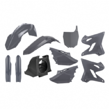 Grey YZ 125 250 2020 Conversion kit For 02-14 Bike Plastics Kit Restyle Airbox